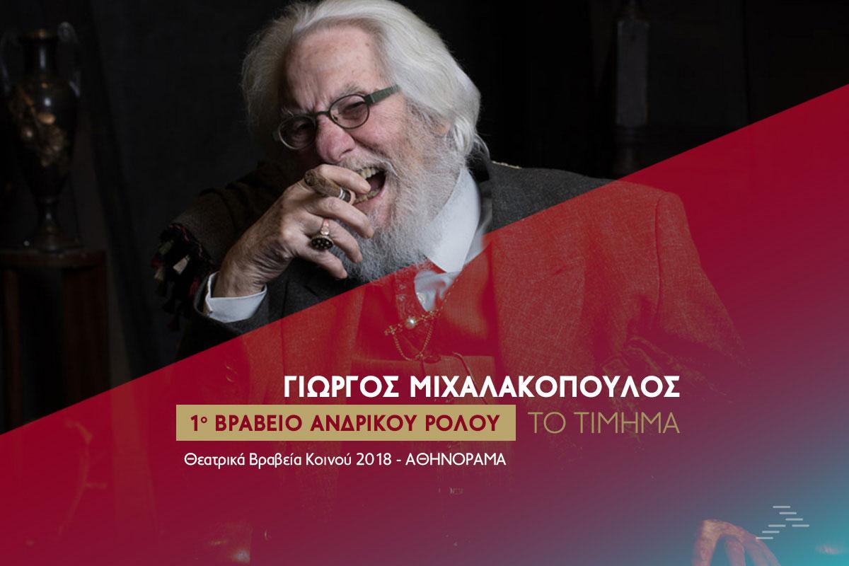 ΘΕΑΤΡΟ ΙΛΙΣΙΑ - ΓΙΩΡΓΟΣ ΜΙΧΑΛΑΚΟΠΟΥΛΟΣ